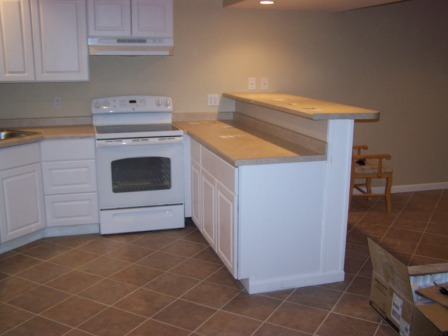 Picture of basement kitchen